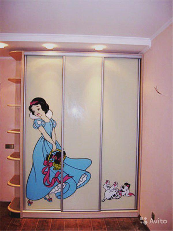 Шкаф купе для девочек фото