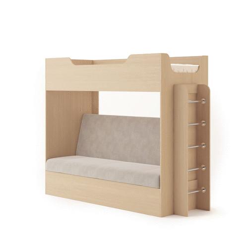 Двухъярусная кровать с диваном купить в красноярске